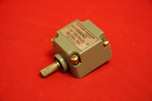 Cutler Hammer E50DN2 Limit Switch Operating Head Neutral Pos 15� New A1, US $40.00 � Picture 1