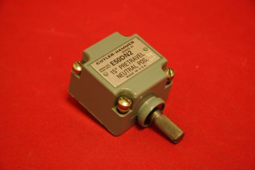 Cutler Hammer E50DN2 Limit Switch Operating Head Neutral Pos 15� New A1, US $40.00 � Picture 2