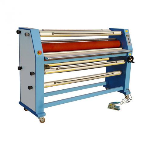 "63""cabinet frame full-auto wide format cold laminating machine-by sea only"