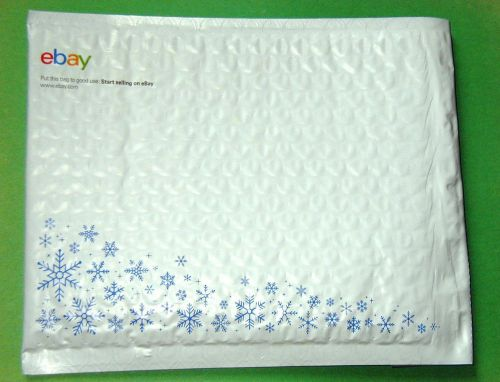 "15 new TZSupplies padded bubble envelopes white airjacket holidays mailer 6.5"" x 8.7"""