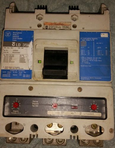 Westinghouse Series C 600 A 600 VAC 250 VDC Circuit Breaker LD3600F 6633C81G03, US $350.00 – Picture 1