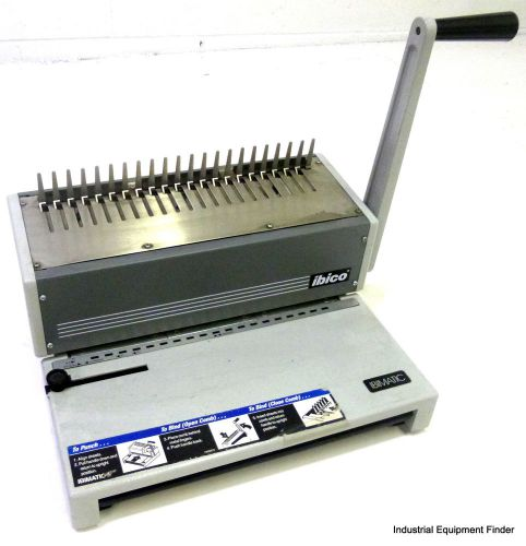 Ibico Trading GMBH CH-8212 Ibimatic 21 Comb Binding