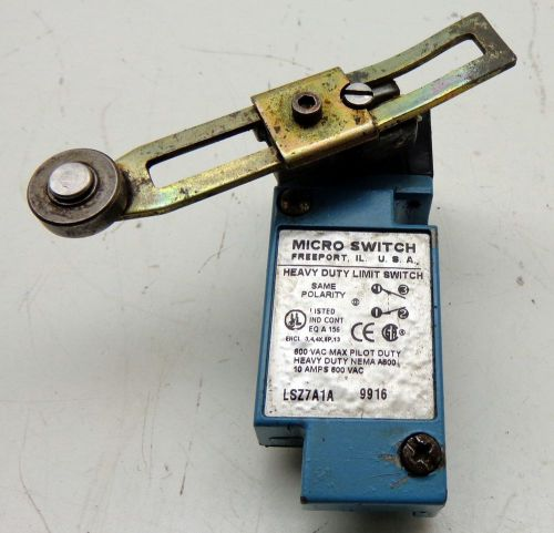 Honeywell Micro Switch LSZ7A1A Heavy Duty Limit Switch, US $30.00 � Picture 1
