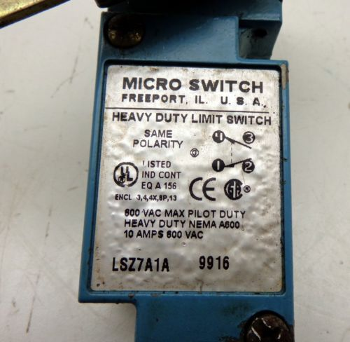 Honeywell Micro Switch LSZ7A1A Heavy Duty Limit Switch, US $30.00 � Picture 2