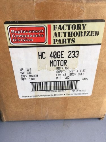 Genteq 5KCP39PG Furnace Blower Motor 3/4 HP 1075 RPM 51