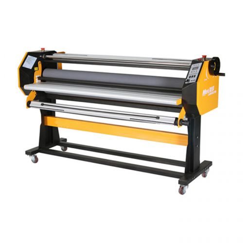 "Port price--67"" stand frame full-auto single side wide format hot/cold laminator"