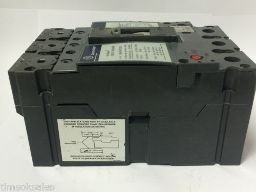 GE Spectra RMS SEHA36AT0100 Hi-Break Circuit Breaker 100A 600V 3P, SRPE100A100, US $80.00 � Picture 7