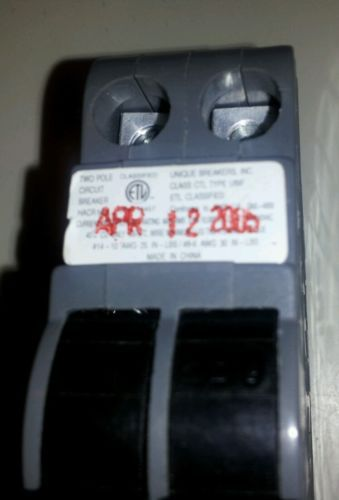 *NEW* UBI F Circut Breaker 50AMP Thin Double Pole 120/240V $25 + FREE SHIPPING!, US $25.00 � Picture 2