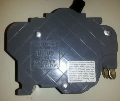 *NEW* UBI F Circut Breaker 50AMP Thin Double Pole 120/240V $25 + FREE SHIPPING!, US $25.00 � Picture 4