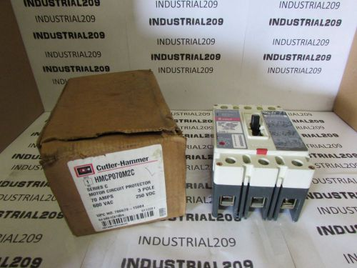 Cutler hammer hmcp070m2c motor circuit protector new in box