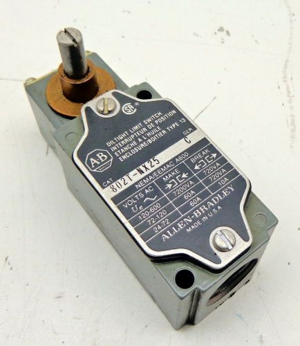 Allen-bradley 802t-nx25 limit switch, series c