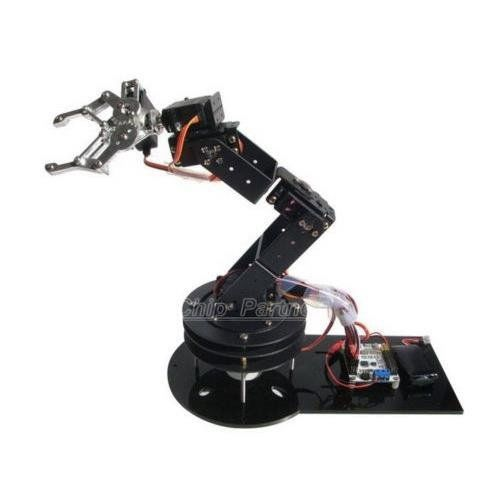 Happy fly shop 6 dof mechanical arm 6 axis 3d rotation robot bracket chassis no