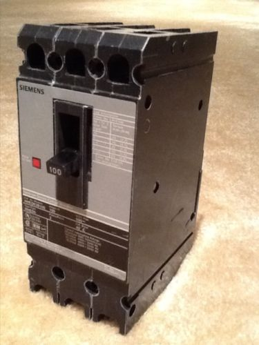 Siemens 3-Pole 100a 600v Breaker Model HHED63B100, US $75.00 � Picture 2