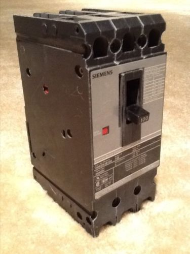 Siemens 3-Pole 100a 600v Breaker Model HHED63B100, US $75.00 � Picture 3