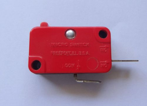 10 pcs microswitch, 5a, 125v. no contact
