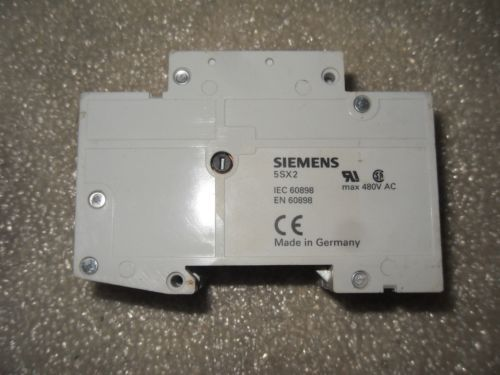 (RR15-2) 1 NEW SIEMENS 5SX22D8 480VAC CIRCUIT BREAKER, US $73.99 � Picture 2