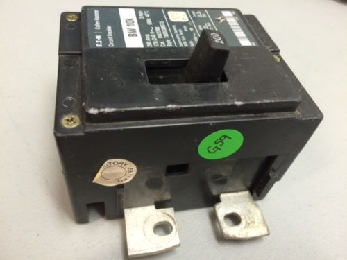Eaton Cutler Hammer 200 AMP Main Circuit Breaker 2 Pole BW 10K BW2200 120/240 V, US $100.00 – Picture 2