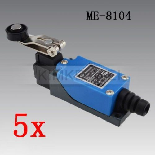 5x rotary plastic roller arm enclosed micro limit switch me-8104