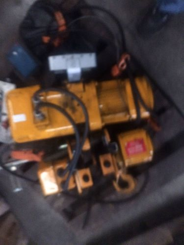 Harrington 2 ton chain hoist 480v