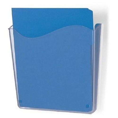 Openbox officemate unbreakable wall file, vertical, clear 21674_