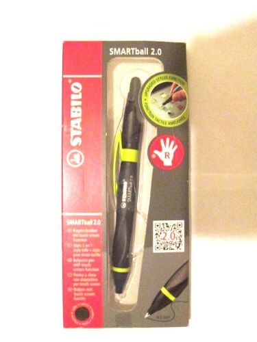 Stabilo smartball 2.0 right handed 0.5mm upgraded stylus function