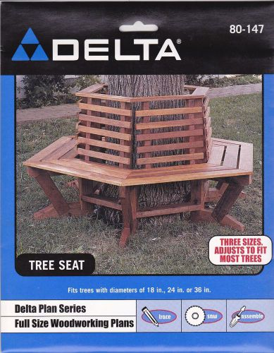 New delta full size woodworking plans #80-147 tree seat adjustable