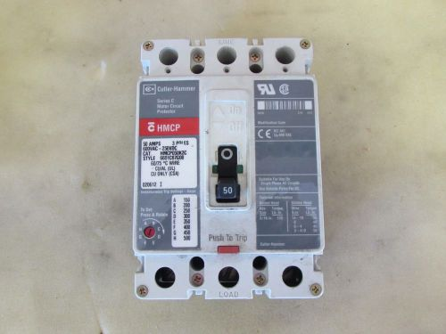 CUTLER HAMMER HMCP050K2C MOTOR CIRCUIT PROTECTOR USED, US $49.99 – Picture 1