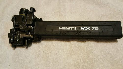 Hilti mx75 magazine (lot 105)