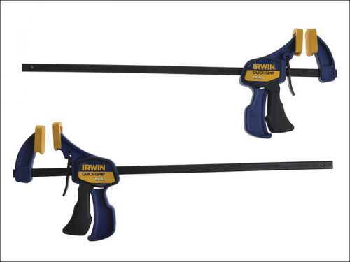 Irwin quick-grip - mini bar clamp 300mm (12 inch) twin pack