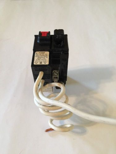 Pushmatic Circuit Breaker 20 Amp 1 Pole P120GF GFCI GFI, US $32.00 � Picture 1