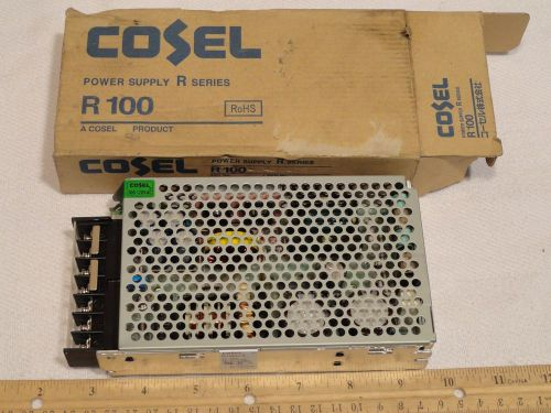 COSEL R100U-5 POWER SUPPLY R/RR100 SWITCHING 5V 20A 50/60HZ