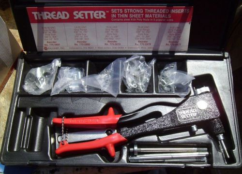 NAPA 770-2875 Thread Setter Tool Kit W/ Inserts and Case