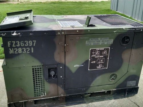 Military Fermont MEP-803A 10 KW 60HZ Diesel Engine Generator Set
