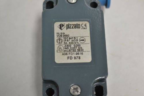 NEW PIZZATO FD 978 LIMIT POSITION SWITCH 400V-AC 3A B217274, US $13.68 � Picture 2