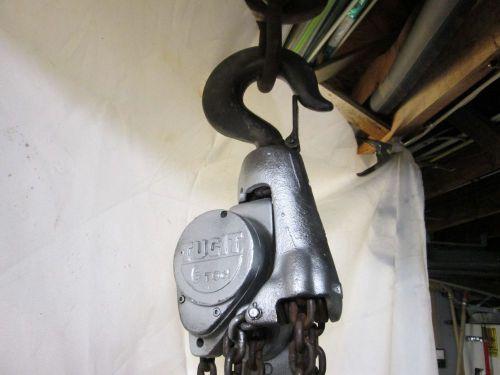 Tugit 6 Ton Lever Chain Hoist Chainfall 701076   TZSupplies com