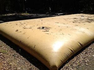 Us military 10,000 gallon collapsible bladder fabric fuel / water tank new