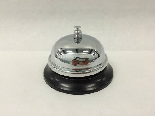 New restaurant hotel customer service bell chrome reception front desk office