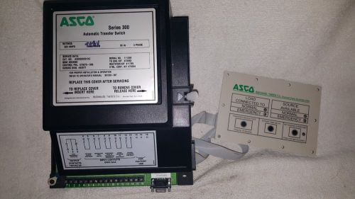 Asco 300 series 208v automatic transfer switch controller 473668-002p used