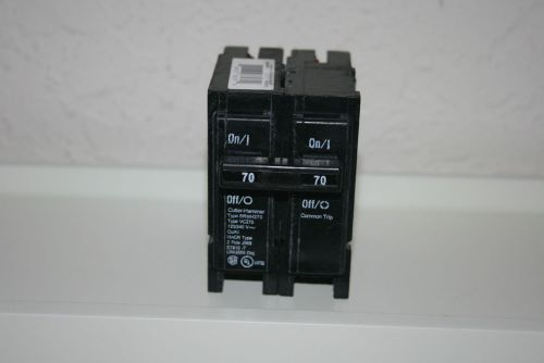 Cutler hammer  brhh270 / br270 42000aic circuit  breakers   brand new