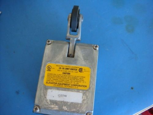 Brend New, ELEVATOR EQUIPMENT CO. LS-1B LIMIT SWITCH 300VAC 8A, 230VDC 1A – Picture 4