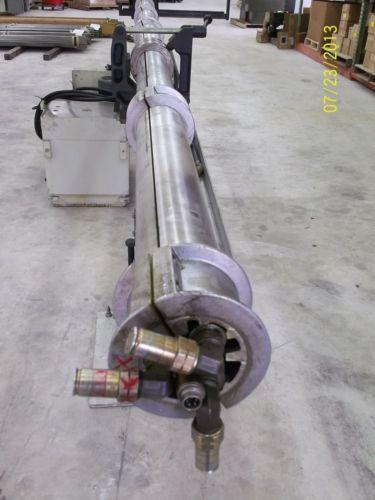 LNS HYDROBAR SWISS CNC BAR FEEDER, 3-TUBE GATLING, SLIDING