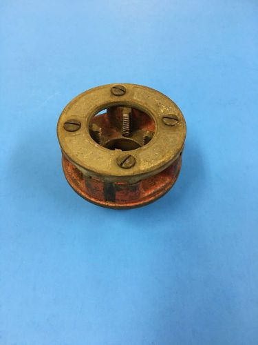 "Ridgid 00r pipe threader 1"" complete die head"