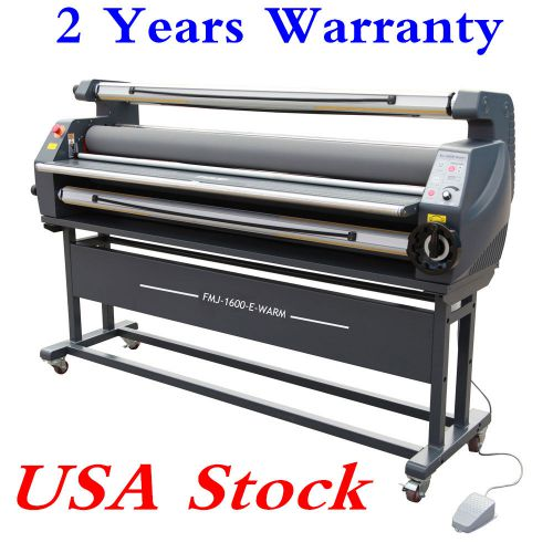 "Usa stock!! 63"" entry level full auto wide format heat assisted cold laminator"