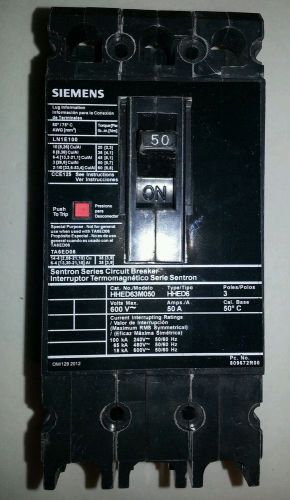 Siemens hhed63m050 (new no box)
