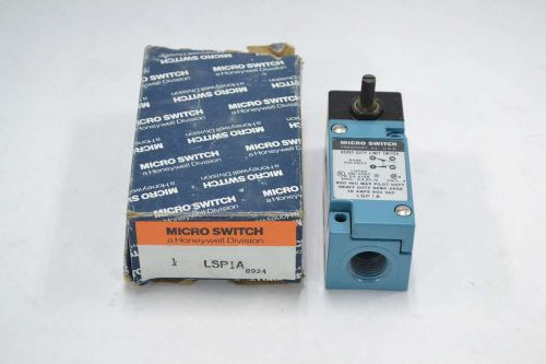 New micro switch lsp1a honeywell roller limit switch 600v-ac 10a amp b360788