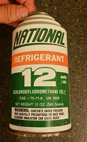 5 cans 12oz ea national  r12 refrigerant.