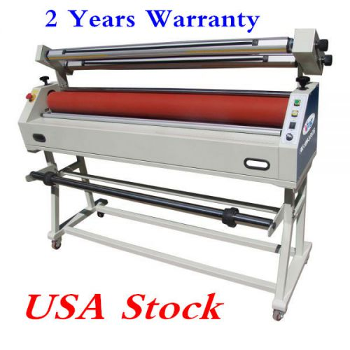 "Us stock-ving 63"" semi-auto master mounting wide format cold laminator"