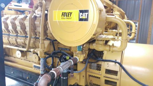 3 megawatt caterpillar g3516le/g3516ta natural gas generators prime 60hz 1800rpm