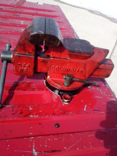 Columbian Bench Vise Swivel Base D44 M2 4 Quot Usa