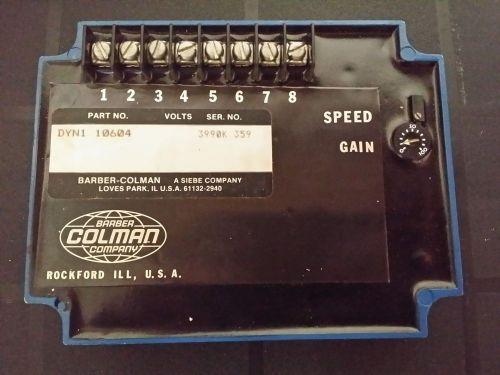 Barber Colman Company DYNA System DYN1 10604 Actuator Control Box